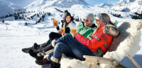 Drinking whilst skiing